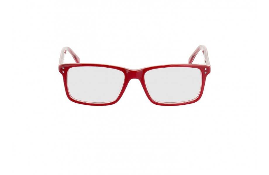 Kerek archoz való szögletes szemüveg