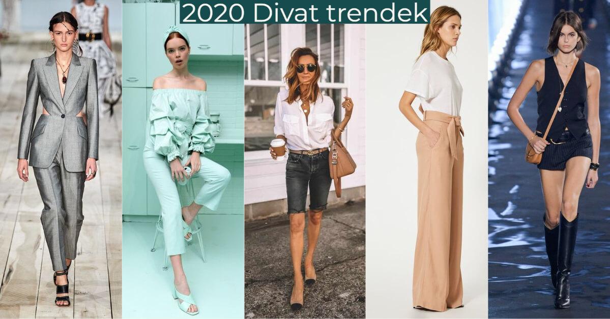 2020-as divat trendek