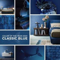 Klasszikus kék a 2020-as év divatszine