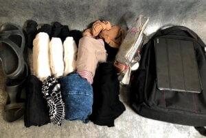 40x30x20 hátizsákba való ruha