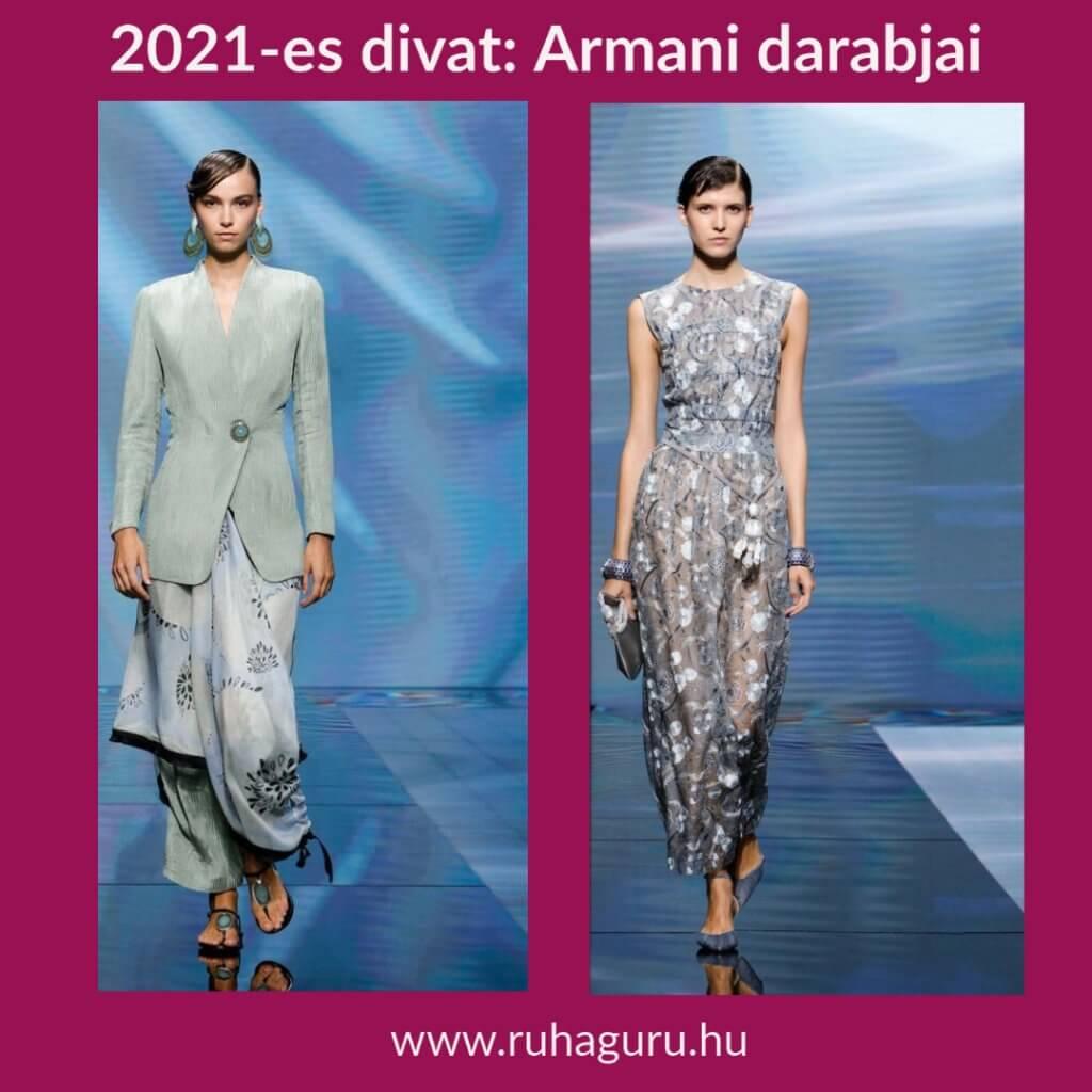 2021-es Armani divat