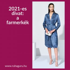 2021-es divat: a farmerkék