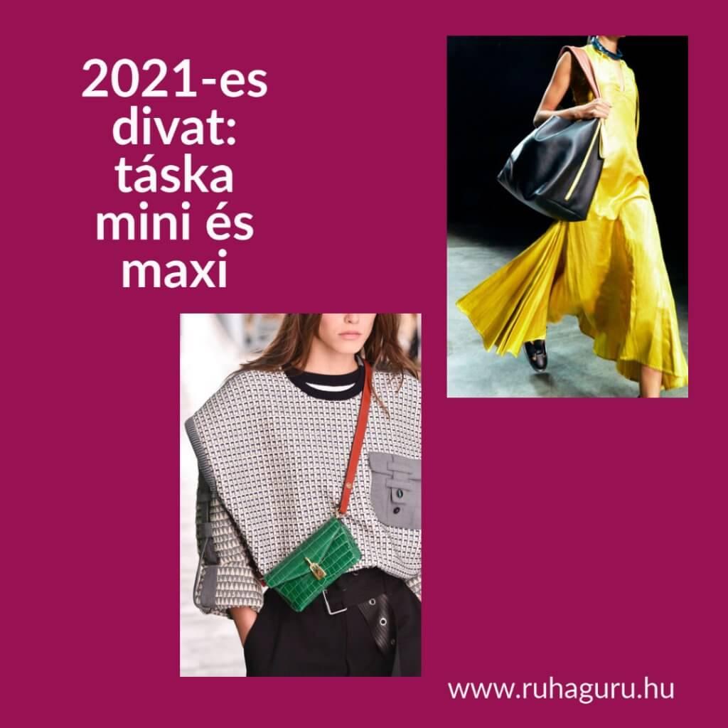 2021-es divat: táska trendek